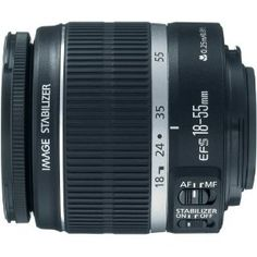 Canon EF-S 18-55mm f/3.5-5.6 IS II SLR Lens  Canon $199.00