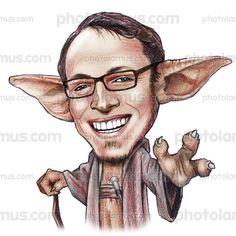 master-yoda-star-wars-caricature.jpg 600×600 pixels
