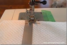 DIY French Gray Tea Towels from Setting for Four #diy #tutorial #tea #towel #gray #ribbon #target #dwellstudio