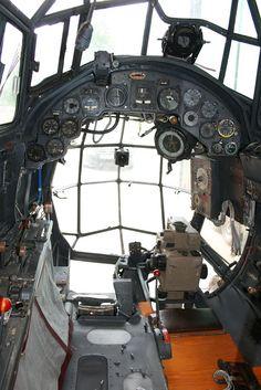 Ju 88A-1 cockpit
