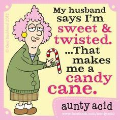 Aunty Acid on sweets
