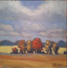 Heidi Malott Original Paintings: Fall Foliage Autumn Landscape Original Oil Paintin...
