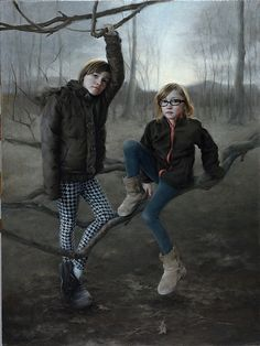 First Place  Award Sponsor: Oil Painters of America  Harvey Girls by Katya O'Hagan  Oil48 x 36  Entered in:Summer 2011