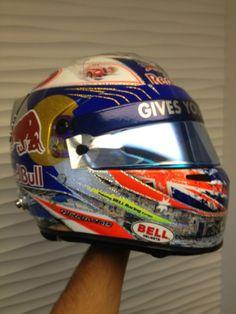 Twitter / danielricciardo: Heres my Monaco helmet design ...