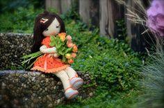 https://flic.kr/p/cuCJtA | Summer Feeling 2 | …, picking some flowers in the garden,...♡ lovely doll