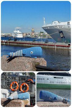 #Small #Whale# pattern, Pattern Includes English, German PDF, Stuffed #Animal,striped whale, blue, knitted toy, soft toys, baby gift, cute #toy #PDF #Pottwal #Häkeln, #Tutorial mit englischer und deutscher Sprache, gestrickt Wal, blau, #amigurumi, #Kissen #Haustier, #Plüschtiere, #Meer