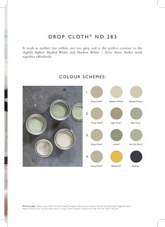 Farrow & ball: drop cloth no. Bedroom Color Schemes, Colour Schemes, Interior Paint Colors, Paint Colours, Interior Design, Inchyra Blue, Paint Color Palettes, Reno, Farrow Ball