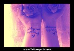 best friend tattoos for girls - Google Search