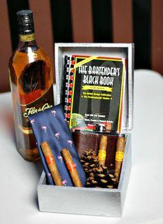 #DIY - #Groomsmen Cigar Gift Box on To Hell in a Handbag #havanahoneys #pmedia #ad