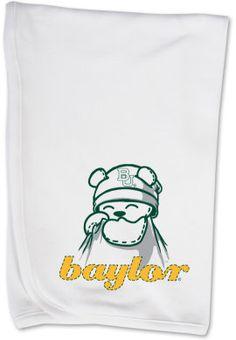 Baylor University Bears Infant Blanket