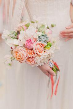 Pastel bouquet.