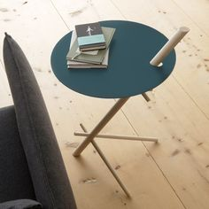 Round side table MINIMATO by Nils Holger Moormann