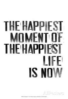 The Happiest I Affiches par Deborah Velasquez sur AllPosters.fr