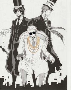 Karneval anime manga art