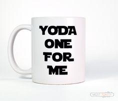 Anniversary Gift for Boyfriend, Gift Yoda One For Me Mug, Funny Gift for Him-Funny Coffee Mug-Tea Mug, Yoda Mug, Anniversary Gift for Men by MostToastyGoods on Etsy https://www.etsy.com/listing/216827686/anniversary-gift-for-boyfriend-gift-yoda