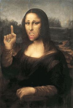 Discover & share this Mona Lisa GIF with everyone you know. GIPHY is how you search, share, discover, and create GIFs. Anim Gif, Animiertes Gif, Animated Gif, Le Sourire De Mona Lisa, Beste Gif, Mona Lisa Parody, Freaky Deaky, Mona Lisa Smile, Animation