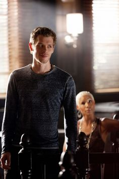 Joseph Morgan - THAT's the look I like LOL