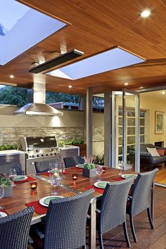 Outdoor dining metricon soho dream home pinterest - Calentadores para terrazas ...