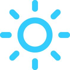Mostly Sunny today!