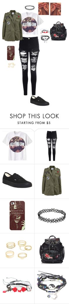 """updates in the description! RTD!!!"" by allie-peay ❤ liked on Polyvore featuring Glamorous, Vans, Velvet by Graham & Spencer, Casetify, Charlotte Russe, Disney and Hot Topic"