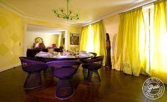 Dining area at St Germain Luxe, apartment for rent in Paris, Saint Germain