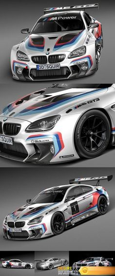 Find your Grapfix Desire With US http://www.desirefx.me/bmw-m6-gt3-2016-3d-model/