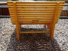Liegestuhl, Relaxliege, Sonnenliege aus Holz für Garten, Terasse, Balkon Outdoor Furniture, Outdoor Decor, Bench, Ebay, Home Decor, Garden, Wood, Sunroom Playroom, Balcony