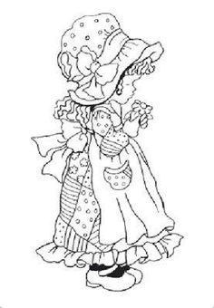 Image result for Classic Holly Hobbie Coloring Pages