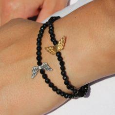 samaki Engelflügel Edelstein Armbänder als bezaubernde Ergänzung