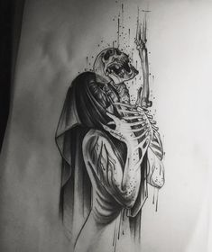 art tattoo 35 Tattoos That Are Actually Amazing Dark Art Drawings, Art Drawings Sketches, Tattoo Sketches, Tattoo Drawings, Manga Tattoo, Tattoo Goo, Great Tattoos, Body Art Tattoos, Sleeve Tattoos