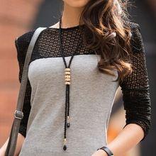 2016 jóias Collares moda europeus e americanos All jogo Multilayer longo espumante frisado colar camisola cadeia feminina(China (Mainland))