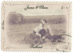 Another of my Outlander stamps.