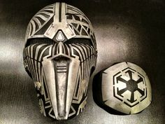Sith Acolyte (SWTOR) and Darth Nihilus Masks