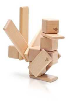 Tegu blocks - these are $$$ but so cool. Click through to watch the video of how the company was started.