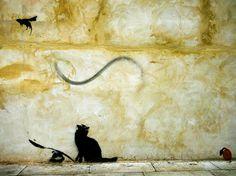 Ready to Hang Banksy Graffiti Canvas Street Art Prints by Banksy Graffiti, Bansky, Banksy Canvas Prints, Wall Art Prints, Panel Wall Art, Canvas Wall Art, Van Gogh, Stencils, Graffiti Wallpaper