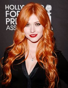Katherine McNamara- she could also maybe be America?