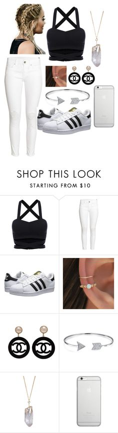 """""""Trend"""" by phoebe-66 ❤ liked on Polyvore featuring H&M, adidas Originals, Chanel, Bling Jewelry, Humble Chic and Native Union"""