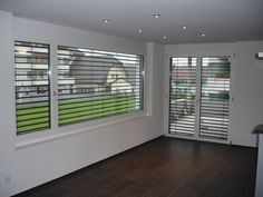 Balkontüre Blinds, Curtains, Home Decor, Windows, Timber Wood, Decoration Home, Room Decor, Shades Blinds, Blind