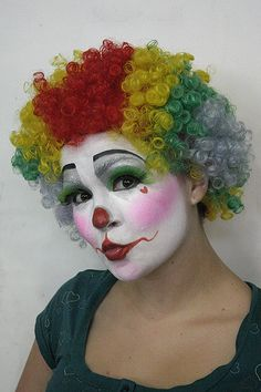 clown makeup and design by Bre: Makeup Artist, via Flickr