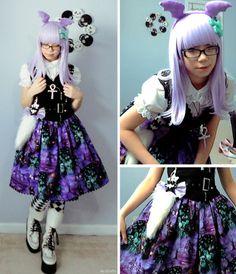 deco lolita ♥ ロリータ, Sweet Lolita, Lolita, Loli, Pastel, Decora,Victorian, Rococo ♥