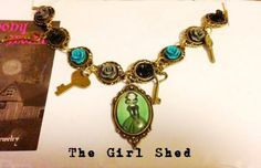 Goth Girl Charm Bracelet