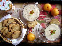 От простоты до изысканности...: Фруктовый тофу-смузи с абрикосовым конфитюром и хрустящим овсяным печеньем