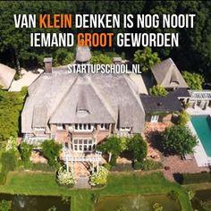 Reinout Oerlemans Denkt Groot En Woont Nog Groter.  Checkout nieuw artikel + foto's van het duurste huis van Nederland op StartupSchool.nl ❗