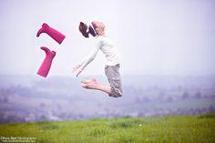 I'm a summer loving girl - Jump #8 of #100 by Olivia Bell, via Flickr