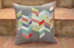 a new couch pillow | Kitchen Table Quilting | Bloglovin'