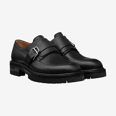 HERMES Pittsburg derby shoe - front