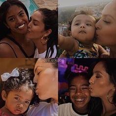 Kobe Bryant And Wife, Kobe Bryant Shirt, Kobe Bryant Daughters, Kobe Bryant Family, Lakers Kobe Bryant, Beautiful Family, Beautiful Moments, Famous Hispanics, Kobe Mamba