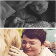 "The second hug Snow ever got to give her daughter, 28 years later: | 21 Times Tumblr Made ""Once Upon A Time"" Fans Cry All Over Again"