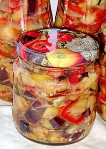 Баклажаны острые, маринованные (заготовки на зиму) рецепт с фотографиями
