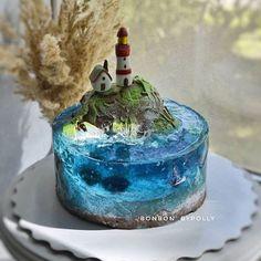 Gorgeous Cakes, Pretty Cakes, Cute Cakes, Amazing Cakes, Ocean Cakes, Beach Cakes, Crazy Cakes, Fancy Cakes, Bolo Original